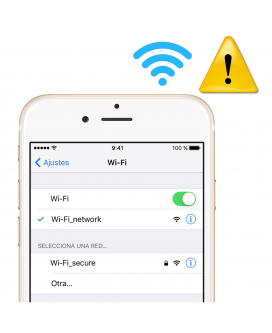 Arreglar wifi Iphone 6