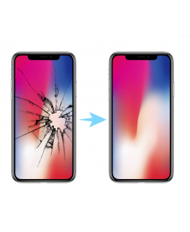 Cambiar pantalla iphone X