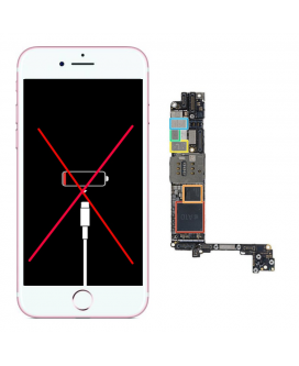 Reparar IC Carga iPhone 6s Plus