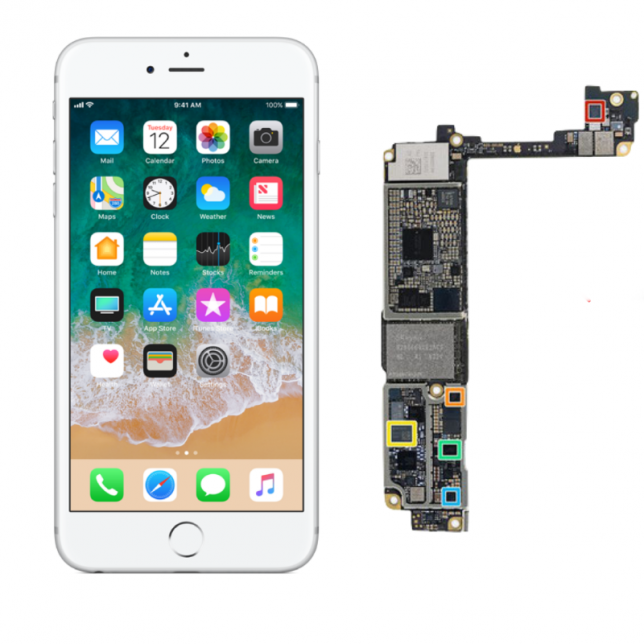 Cambiar placa base IPhone 6S