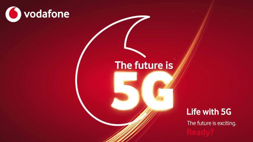 Nueva red 5G con Vodafone