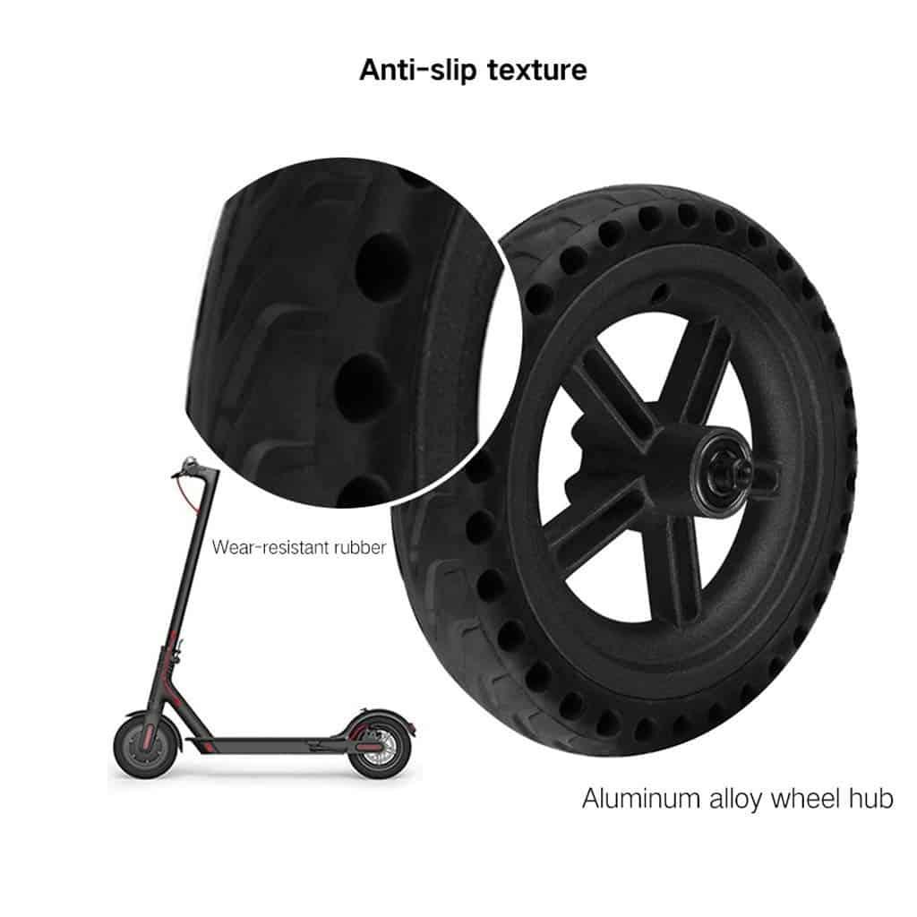 ¿Rueda maciza vs rueda de camara?