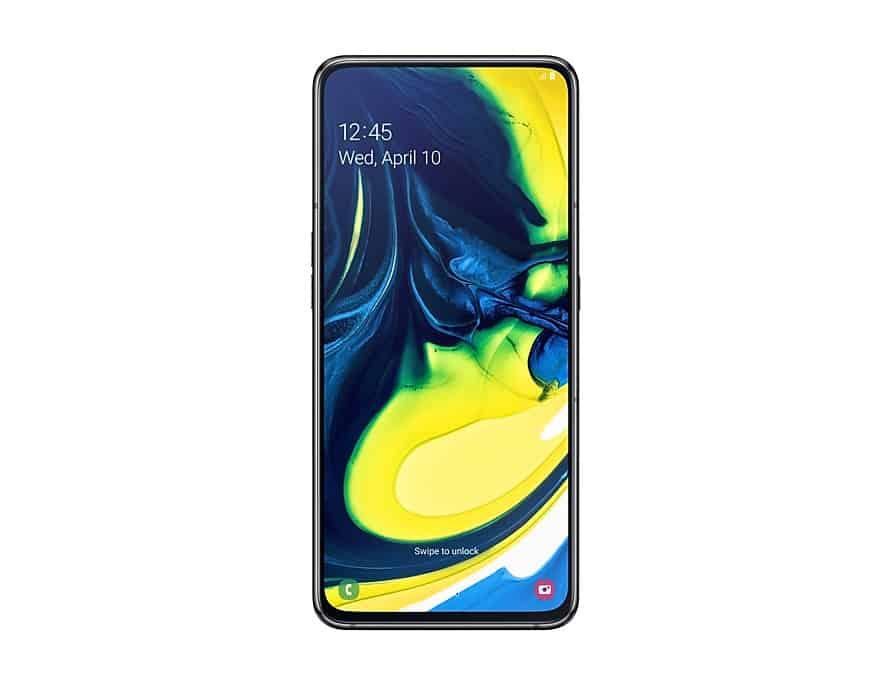 Samsung A80 pantalla infinity y camara giratoria