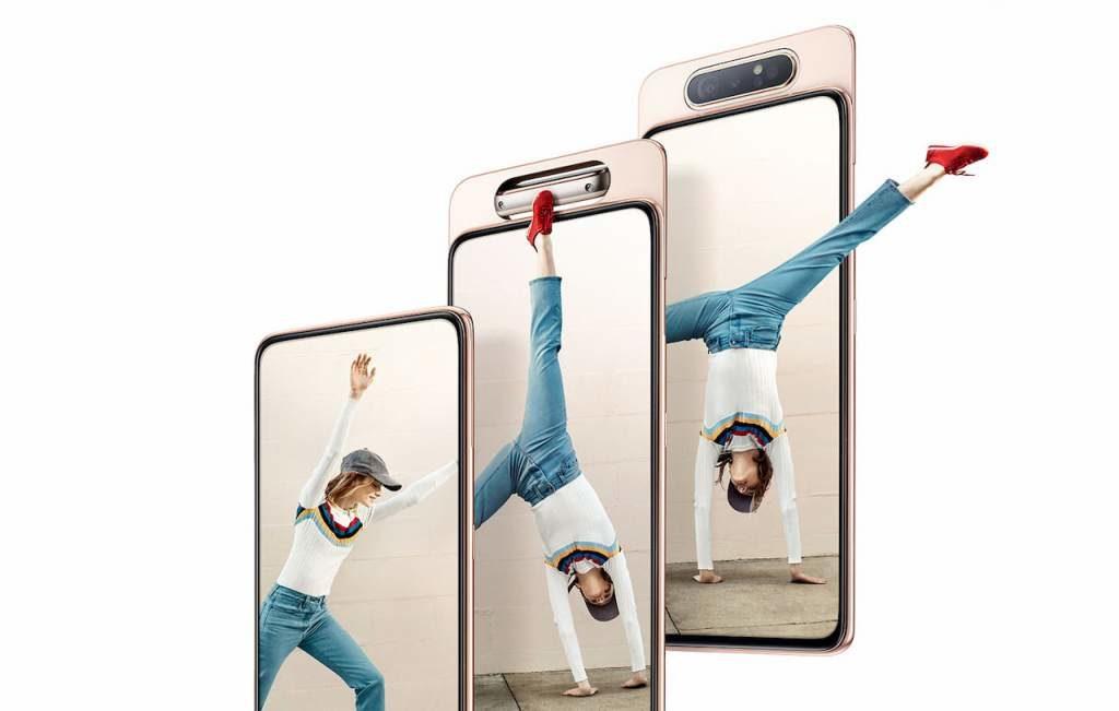 Camara rotatoria Samsung Galaxy A80