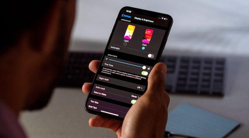 modo oscuro en tu iphone