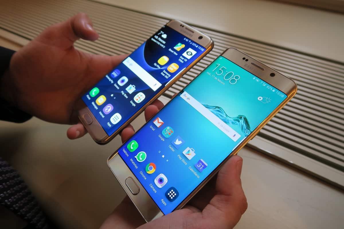 problemas con la Pantalla del Samsung Galaxy S7