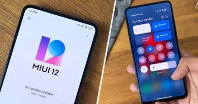 móvil Xiaomi con MIUI