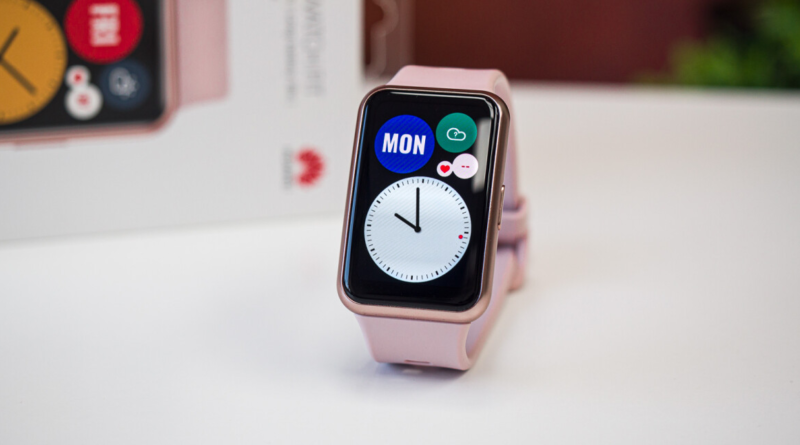 Huawei Watch Fit, un reloj inteligente bonito y barato