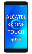ALCATEL 3X ONE TOUCH 5058